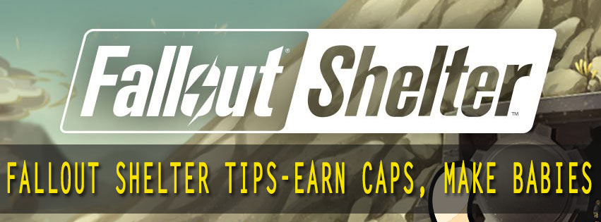 how to get caps in fallout shelter