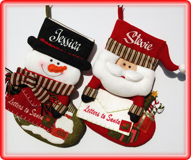 Personalized Christmas Stockings For Kids